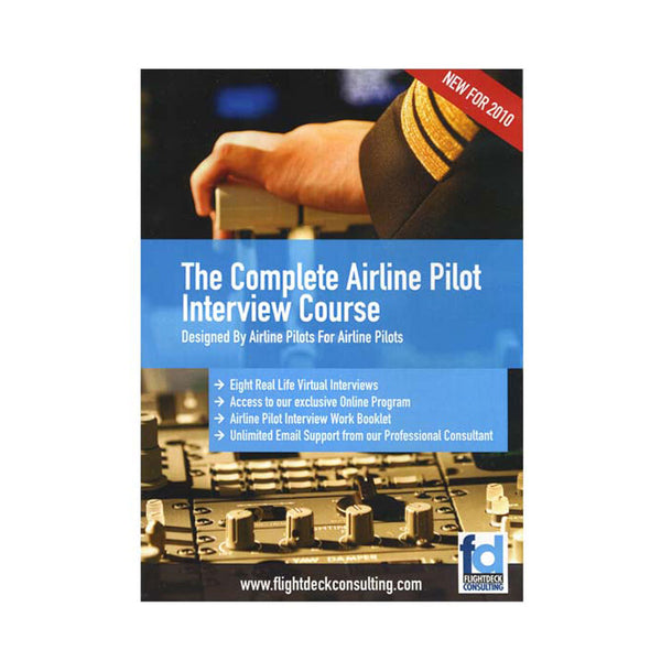 The Complete Airline Pilot Interview Course, DVD