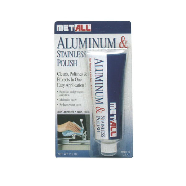 Met-All - Aluminum & Stainless Steel Polish - 2.5oz | BP-2