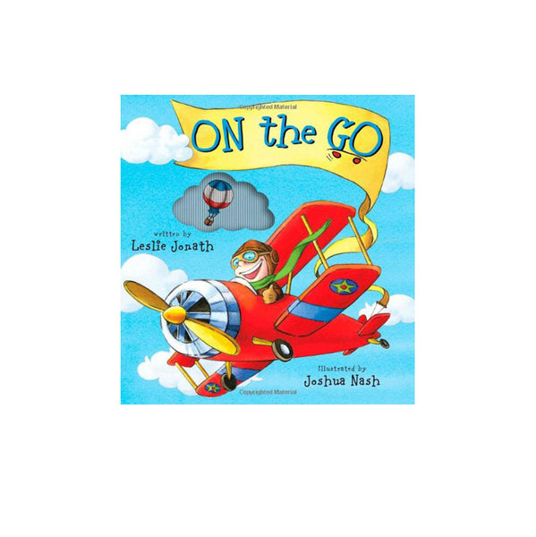 Simon And Schuster - On The Go, Mini Animotion Book, Jonath
