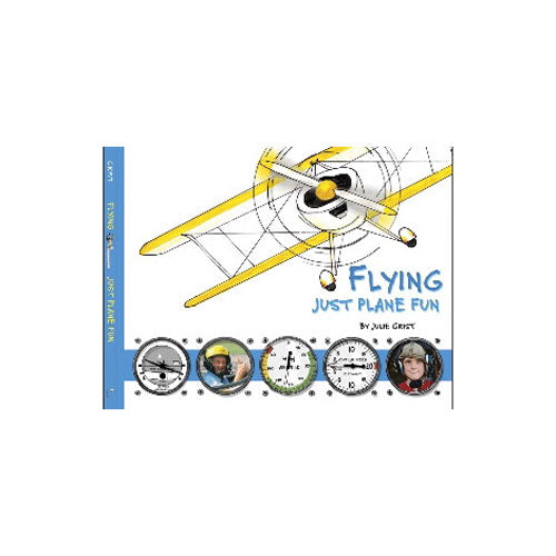 Spoonbender Books - Flying: Just Plane Fun, Softcover, Grist