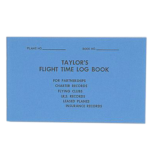 Taylor's Flight Time Logbook | BTAY001