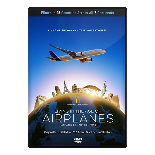 Living In The Age Of Airplanes Dvd | BTIH100