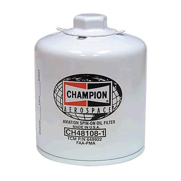 Champion - Aircraft Oil Filter | CH48108-1