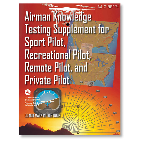 ASA - Airman Knowledge Testing Supplement, Sport, Private, & Recreational Pilot