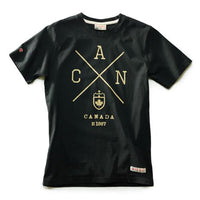 Red Canoe - Cross Canada T-Shirt Black | M-SST-CANX-01-BK