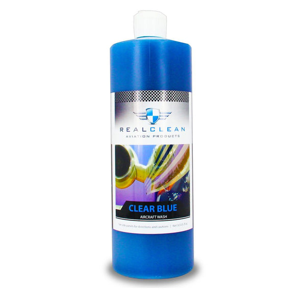 Real Clean Clear Blue Premium Aircraft Wash 32oz