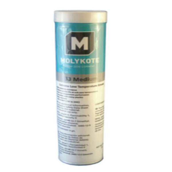 Dow Corning Molykote 33 MED Low Temp Bearing Grease - 14oz