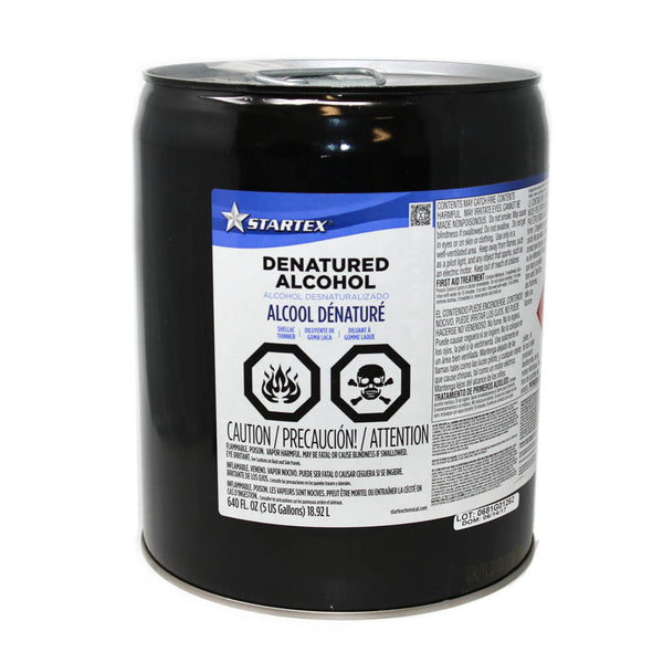StarTex - Denatured Alcohol, 5 Gall Pail