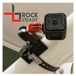 Flight Flix - Rock Steady, Ball Mount Gopro & Garmin X/Xe, Strut Base W/ Dovetail, Strut Metal Strap Kit | FF-MTBGP-BSDV-KVS