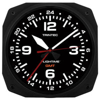 Trintec - 10'' FLIGHTIME™ GMT Dual Time Clock | FT-GMT-10