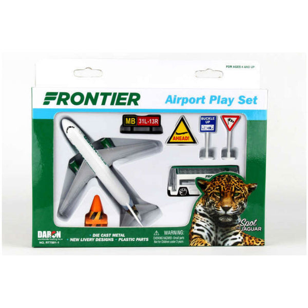 Daron - Airport play set, 10 Piece, Frontier | N DAR 012-FRT