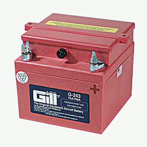 Gill - Aircraft Battery 24V | G243 - Without Acid