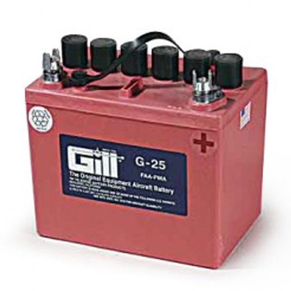 Gill - Aircraft Battery 12V | G25 - Without Acid