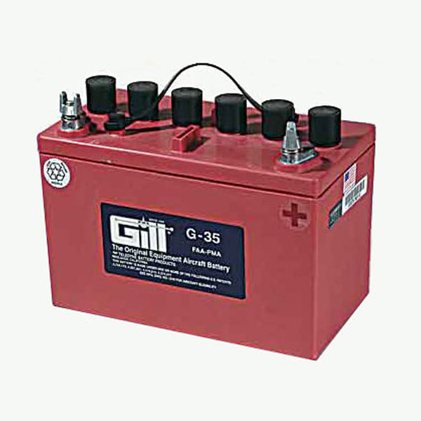 Gill - Aircraft Battery 12V | G35 - Without Acid