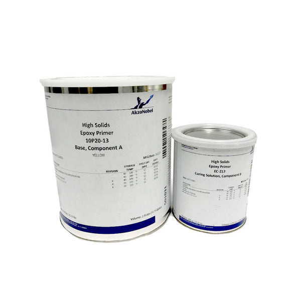 AkzoNobel - Yellow Epoxy Primer, Gal Kit | 10P20-13/EC-213