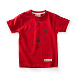 Red Canoe - Kids Cross Canada T-Shirt | K-SST-CANX-HR