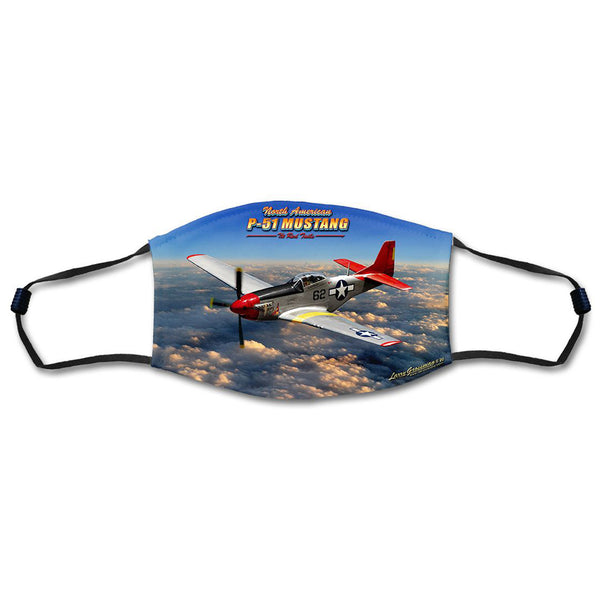 P-51 Mustang Face Mask