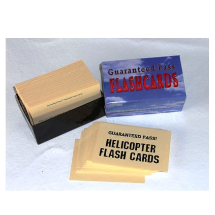 Helicopter Flash Cards-Guaranteed Pass |M DRN 510