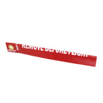 National Aerospace Standard - Red, White 12 in Remove Before Flight Streamer | NAS1756-12