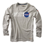 Red Canoe - NASA Long Sleeve T-Shirt | M-LST-NASA-GY