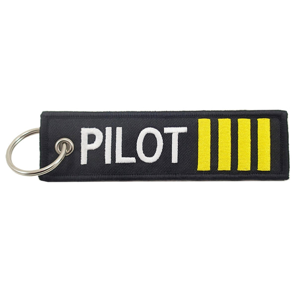 Key Chain, Embroidered, Pilot | NGEN270