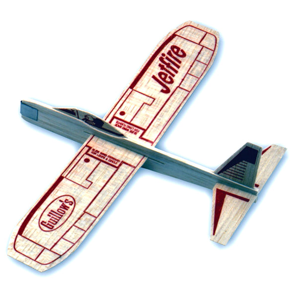 Guillow, Paul K, Inc. - Guillow's Balsa Wood Glider, Jetfire