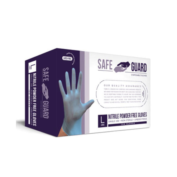 SafeGuard - Nitrile Powder Free Gloves | NGPPFGL