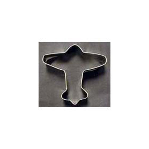 Foose Cookie Cutters - Tin Cookie Cutter, Airplane | N HOF 101