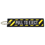 Luso Aviation - Key Chain Embroidered Pull To Eject | NLUS205-PTE