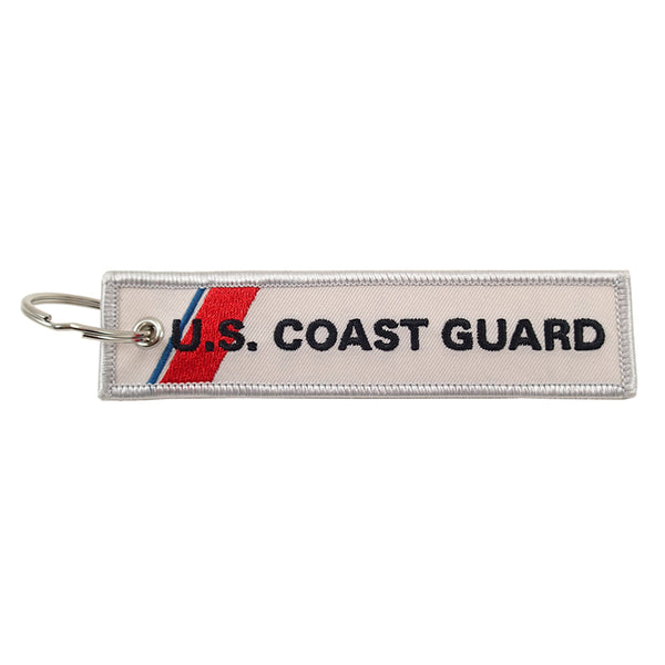Luso Aviation - Key Chain Embroidered US Coast Guard | NLUS205-USCG