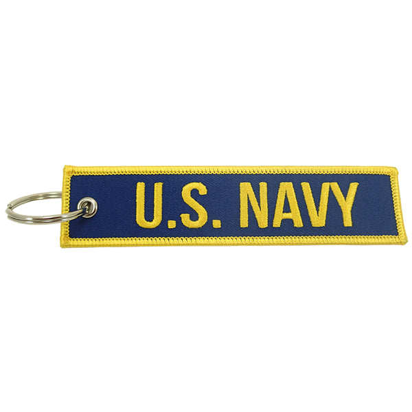 Luso Aviation - Key Chain Embroidered US Navy | NLUS205-USN