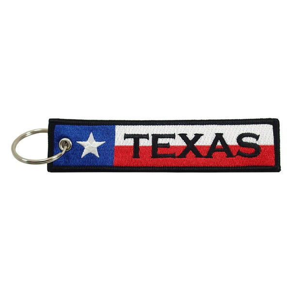 Embroidered Keychain, Texas