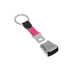 'I Love Aviation'' Novelty Seatbelt Keychain