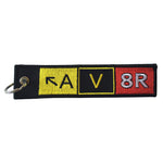 Pilot Expressions - Key Chain Embroidered Av8R | NPEX280