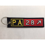 Embroidered Keychain, Piper Cherokee