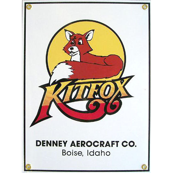 Aero Phoenix - Metal Sign, Kitfox, Denney Aerocraft Co.