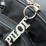 Luso Aviation - Stainless Steel Pilot Key Chain  |N LUS 250