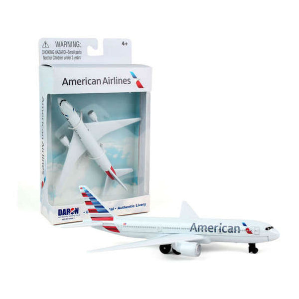 Daron - Toy Diecast Model Airplane, American AAL | N DAR 200-AAL