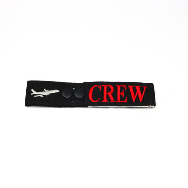 Tom Rubin Ent - Crew Tag, Embroidered on Canvas | OAPX508