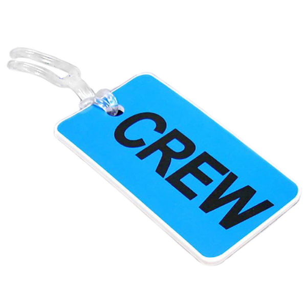 Aero Phoenix - Gelflex Double Sided Crew Tag, Blue