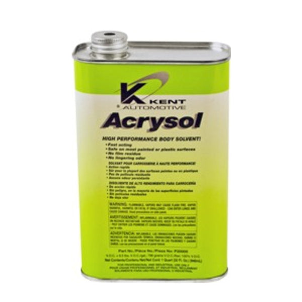 Kent Automotive - Acrysol Paint Preparation & Auto Body Solvent, Quart Can | P20005