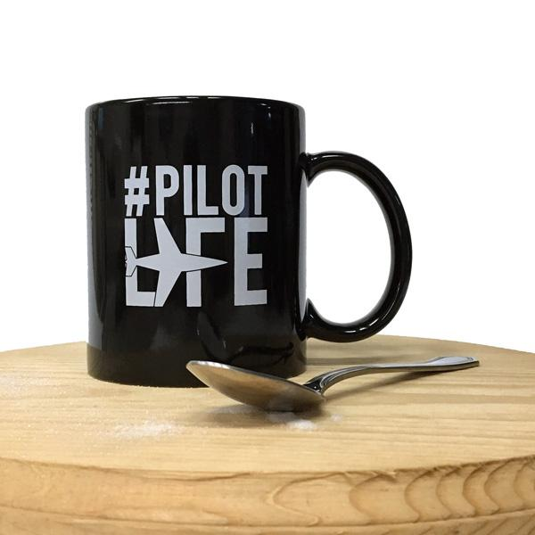 Trintec - #PilotLife 11 oz. Coffee Mug | PL-MUG-01