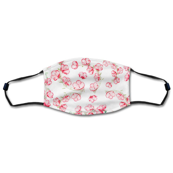 Pink Blossoms Mask