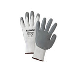 Radnor - Medium White Foam Nitrile Palm Coated Work Glove | RAD64056392