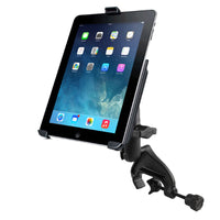 "Ram - Yoke Mount Double Socket Medium (3.69"") Ipad 2-4 Ez-Roll'R™ 