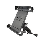 Ram - Yoke Clamp Mount With Tab-Tite Universal Clamping Cradle For The Ipad 1-4 With Or Without Case | RAM-B-121-TAB3U