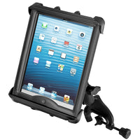 "Ram - Yoke Mount With Tab Tite Cradle For 10"" Tablets With Heavy Duty Cases 