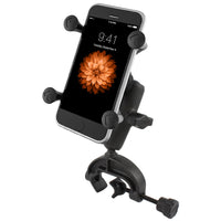 Ram - Universal Composite Clamp Mount With X-Grip Cell/Iphone Holder | RAP-B-121-UN7U