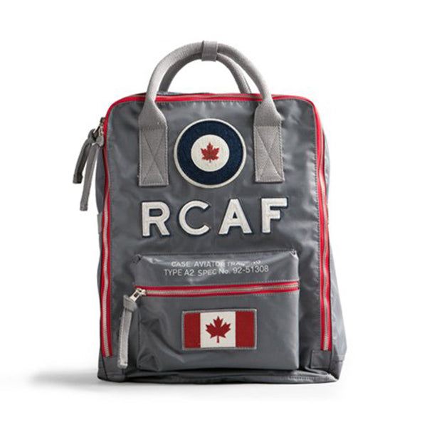Red Canoe - RCAF Backpack Grey | U-BAG-RCAFBPACK-GY