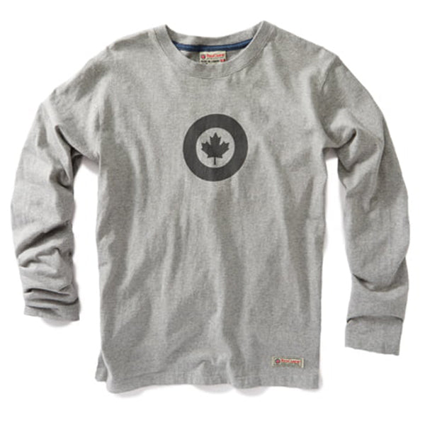 Red Canoe - RCAF Long Sleeve T-Shirt Grey | M-LST-RCAF-01-GY